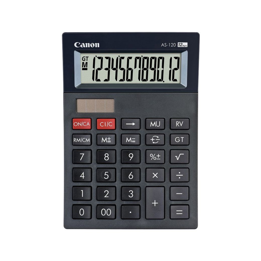 CALCULATOR BIROU 12DIG AS120 CANON