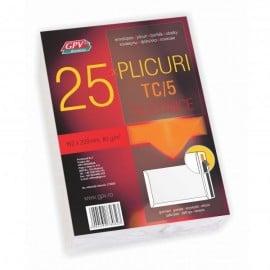 PLIC C5 SILICON 80G 162*229MM ALB TIP T 25/S GPV