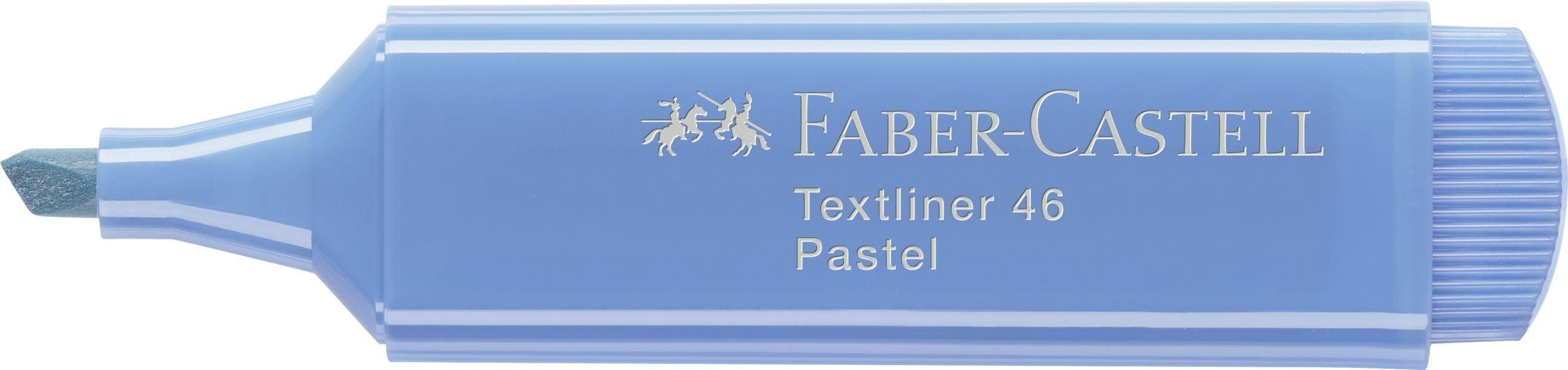 TEXTMARKER ALBASTRU MARIN PASTEL 1546 FABER-CASTELL