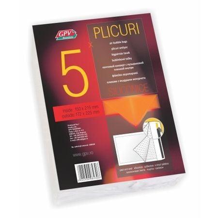 PLIC PERNA AER C/13 EXT-170*225MM/INT-150*215MM ALB 5/S GPV