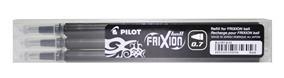 MINA ROLLER 0.7MM NEAGRA 3/SET FRIXION PILOT