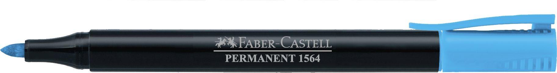 MARKER PERMANENT BLEU SLIM 1564 FABER-CASTELL