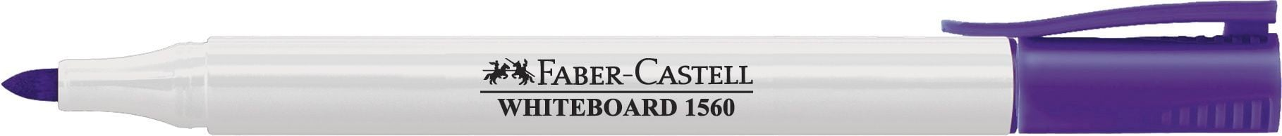 MARKER WHITEBOARD VIOLET SLIM 1560 FABER-CASTELL