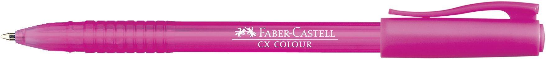 ROLLER 1MM SEMI-GEL CX COLOUR ROZ FABER-CASTELL