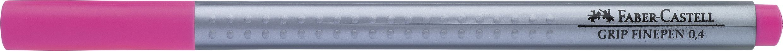 LINER 0.4MM ROZ MAGENTA GRIP FABER-CASTELL