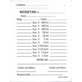 MONETAR 2EXEMPLARE AUTOCOPIATIV