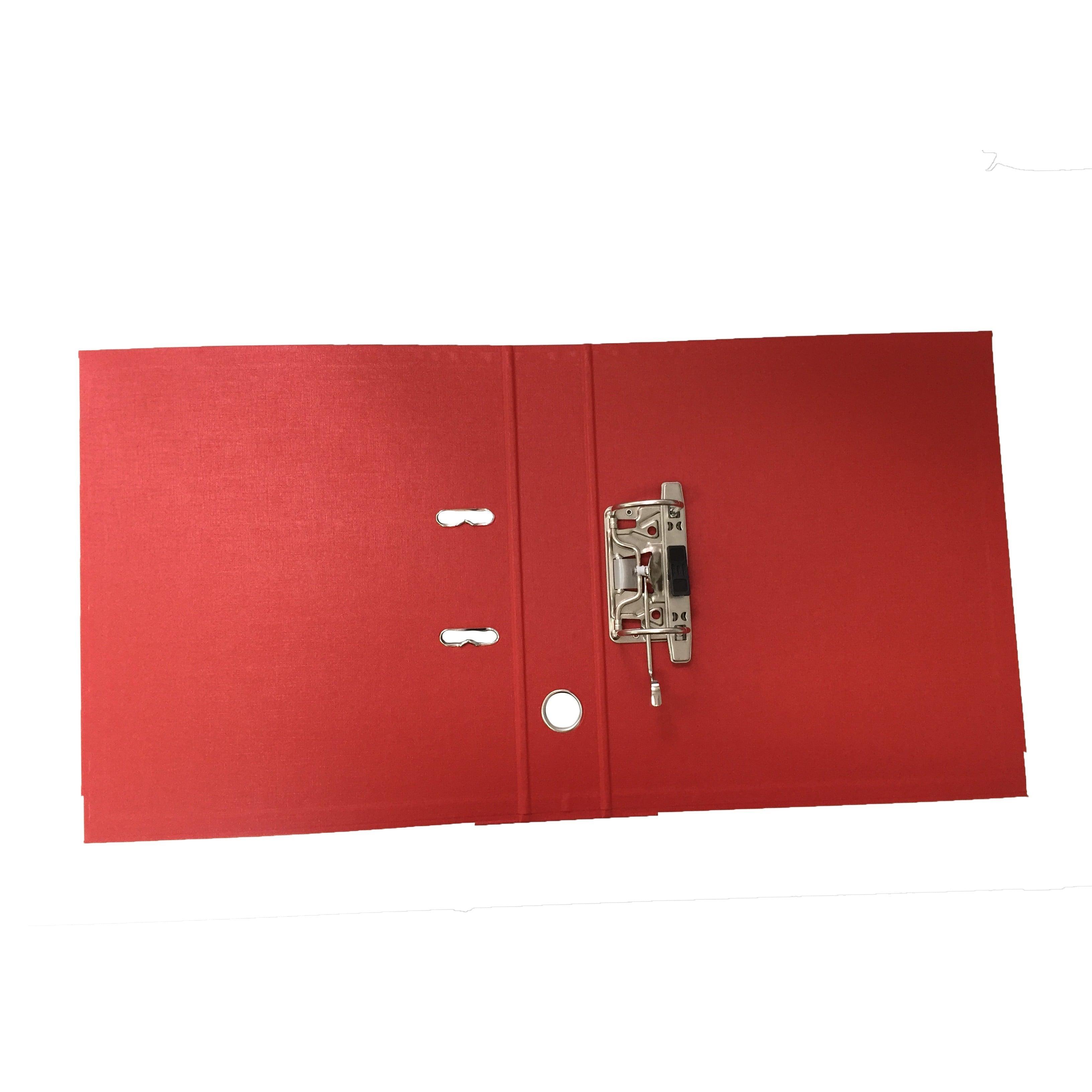 BIBLIORAFT PLASTIFIAT INT-EXT 7.5CM ROSU NOKI