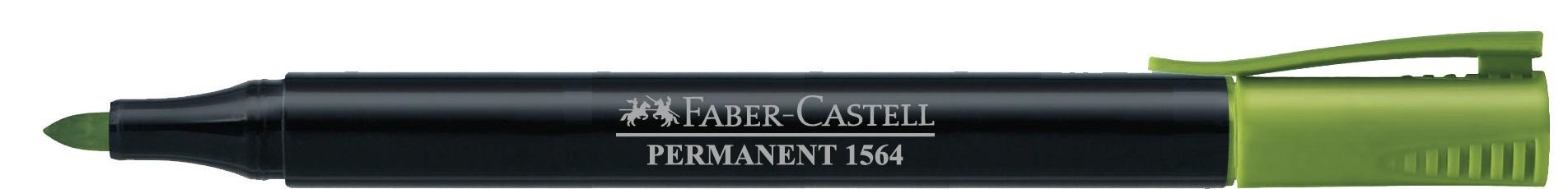MARKER PERMANENT VERNIL SLIM 1564 FABER-CASTELL