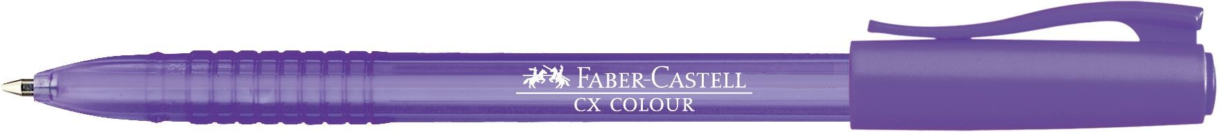 ROLLER 1MM SEMI-GEL CX COLOUR VIOLET FABER-CASTELL