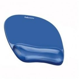 MOUSE PAD SI SUPORT INCHEIETURI ALBASTRU GEL CRYSTAL FELLOWES - 1+1 GRATIS