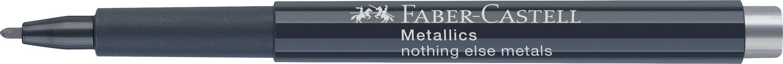 MARKER METALLICS ARGINTIU FABER-CASTELL
