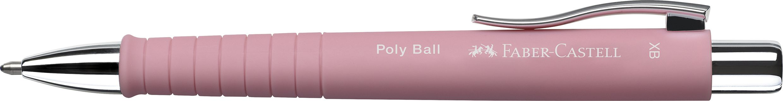 PIX CU MECANISM SI GRIP ROSE POLY BALL XB FABER-CASTELL