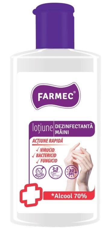 LOTIUNE DEZINFECTANTA MAINI 150ML FARMEC