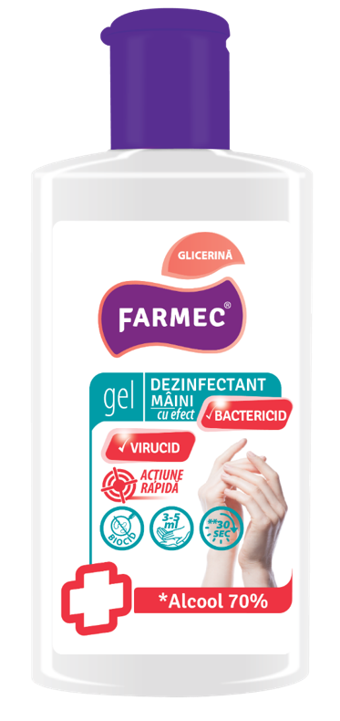 GEL DEZINFECTANT MAINI 150ML FARMEC