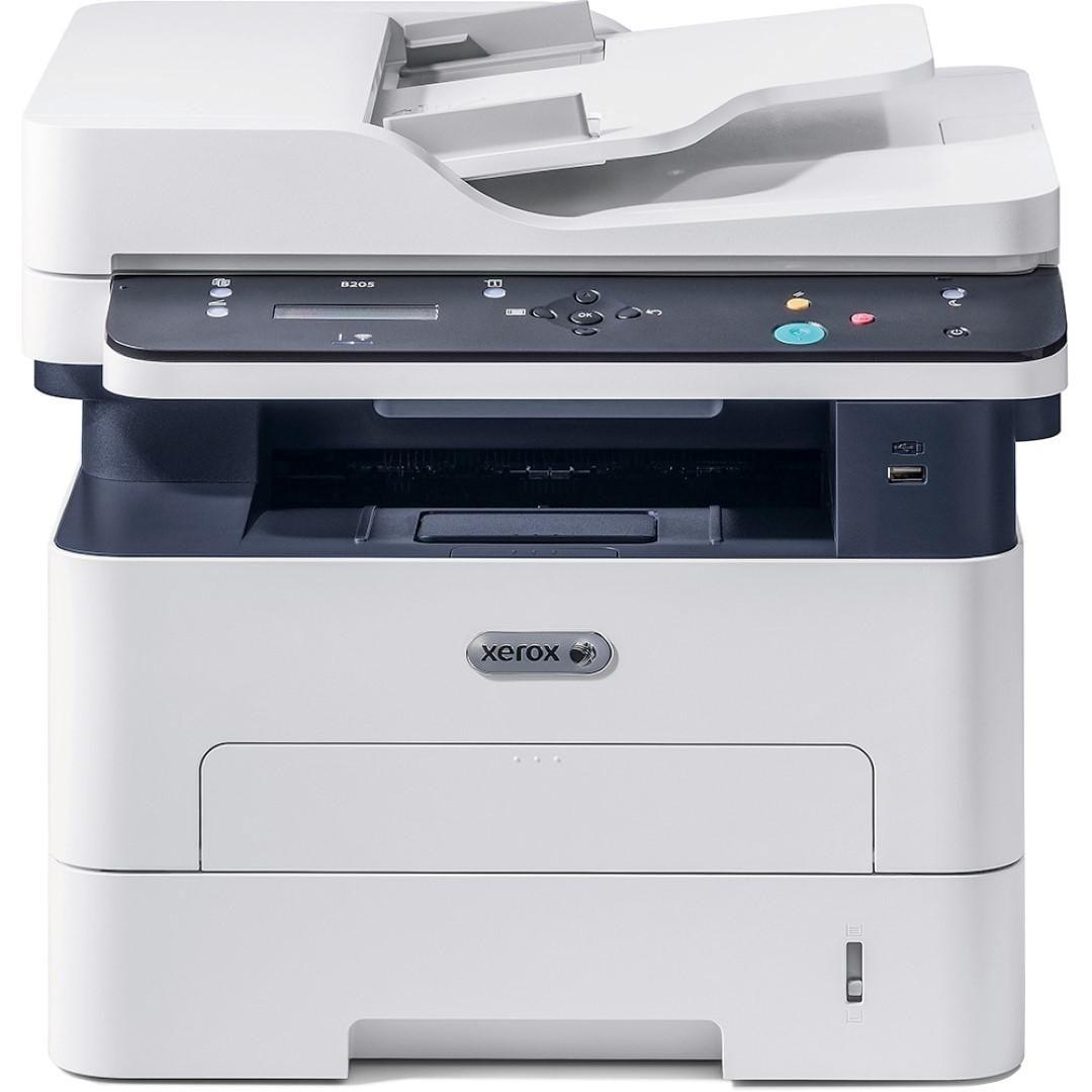 Multifunctional laser mono Xerox Workcentre B205V_NI, Dimensiune: A4, Viteza: 30 ppm, Rezolutie: 600X600 dpi, Procesor: 600 MHz, Memorie: 256, Alimentare cu hartie standard: 250 coli, ADF, Li