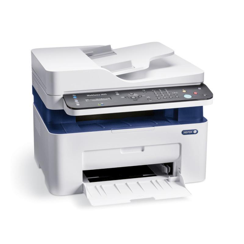 Multifunctional laser mono Xerox WorkCentre 3025V_NI, Print/ Copy/ Scan/ Fax, Viteza: 20 ppm, Rezolutie: 600X600 dpi, Procesor 600 MHz, Memorie 128 MB, Limbaje de printare: GDI, Interfata: US
