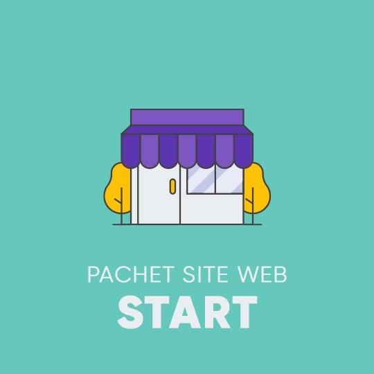 SITE WEB - Pachetul START