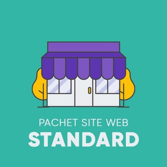 SITE WEB - Pachetul STANDARD