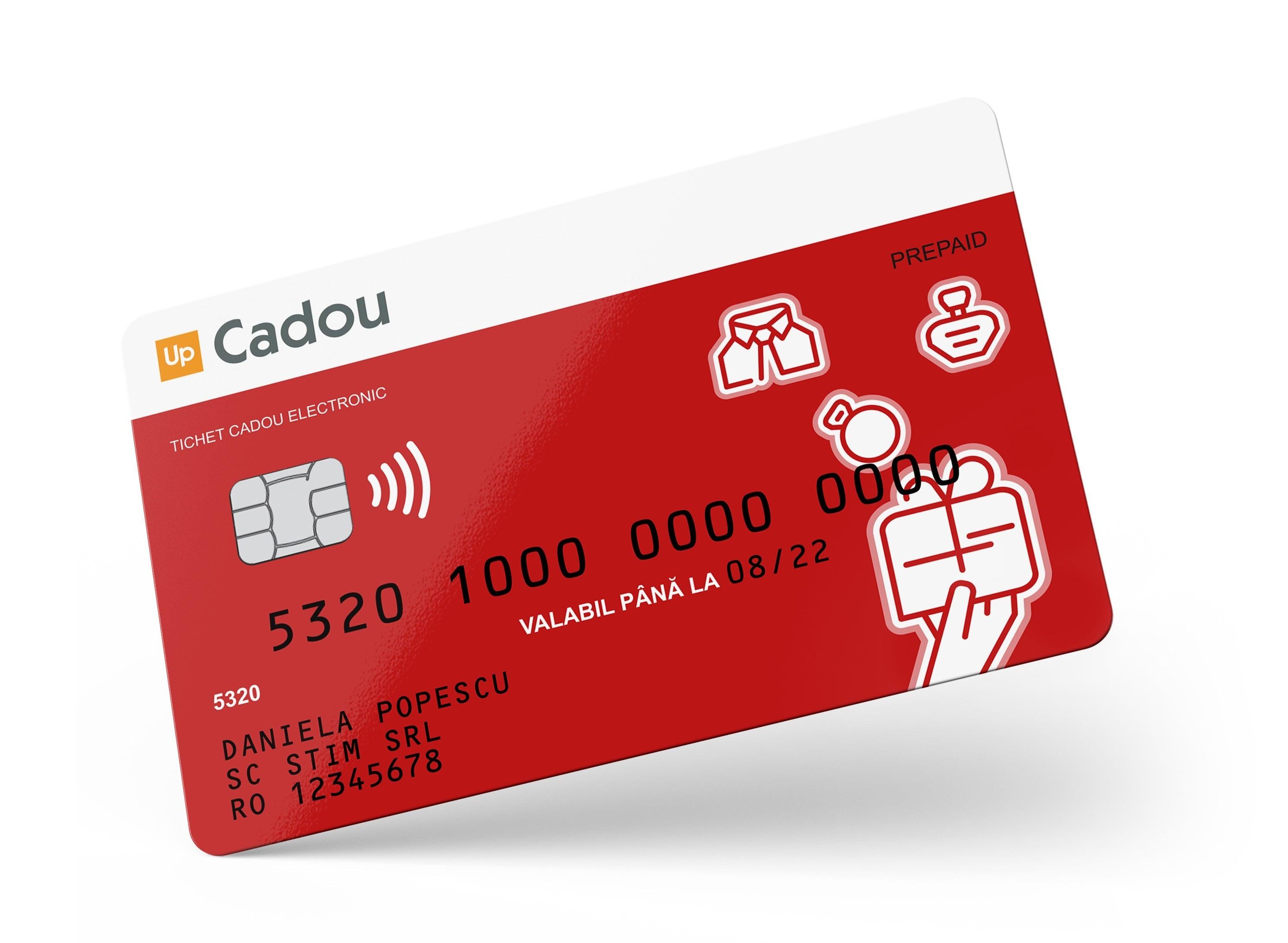 Card cadou pentru angajati