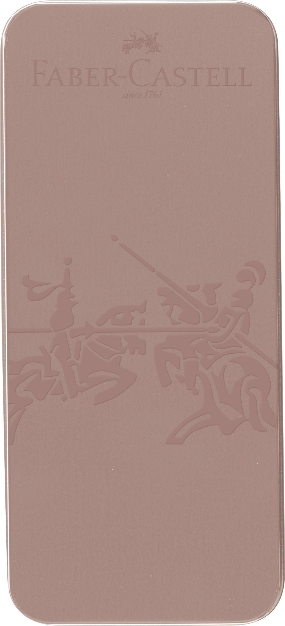 SET CADOU STILOU + PIX GRIP 2011 ROSE CUPRU FABER-CASTELL