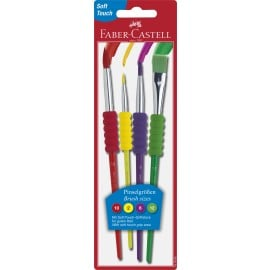 SET 4 PENSULE SOFT TOUCH FABER-CASTELL