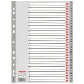 SEPARATOARE INDEX PLASTIC 1-31 ESSELTE