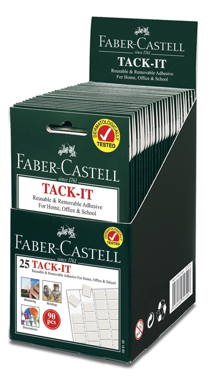GUMA ADEZIVA 50G TACK-IT FABER-CASTELL