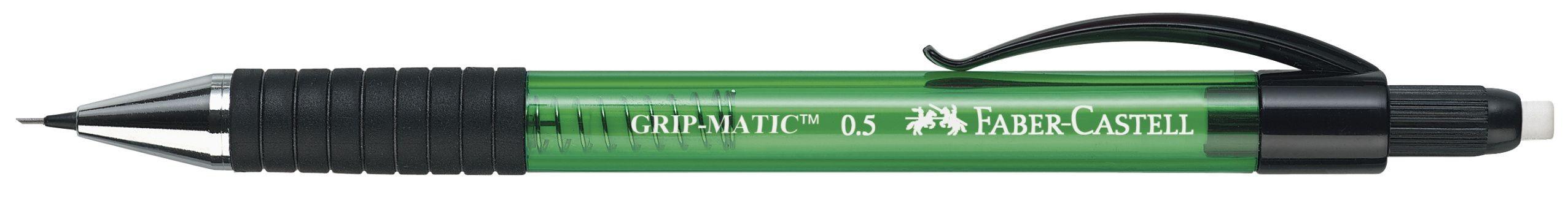 CREION MECANIC 0.5MM VERDE GRIP-MATIC 1375 FABER-CASTELL