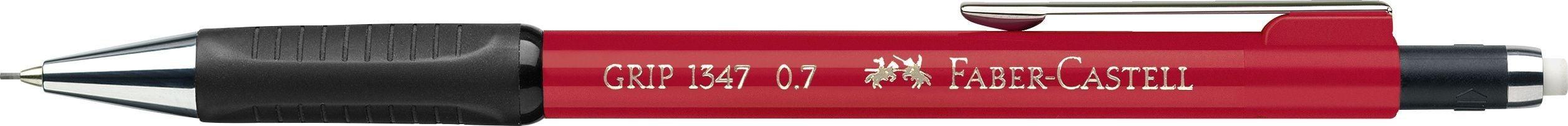 CREION MECANIC 0.7MM ROSU APRINS GRIP 1347 FABER-CASTELL