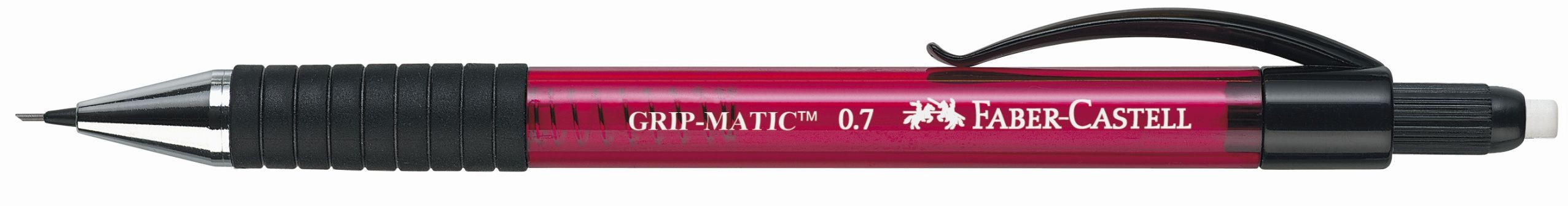 CREION MECANIC 0.7MM ROSU GRIP-MATIC 1377 FABER-CASTELL