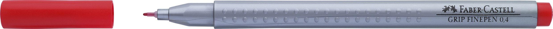 LINER 0.4MM ROSU GRIP FABER-CASTELL
