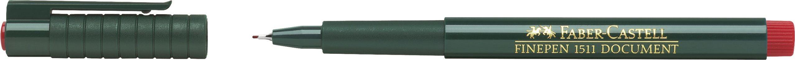 LINER 0.4MM ROSU FINEPEN 1511 FABER-CASTELL