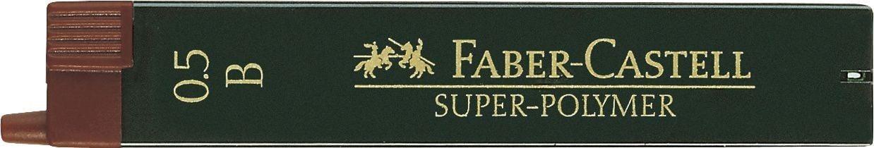 MINA CREION 0.5MM B SUPER-POLYMER FABER-CASTELL