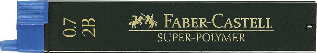 MINA CREION 0.7MM 2B SUPER-POLYMER FABER-CASTELL